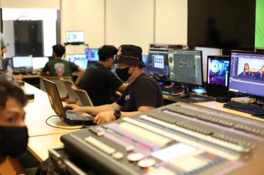 Jasa pembuatan video company profile jakarta Foto Virtual Event Family Gathering Bank Syariah Mandiri 2020 - 12