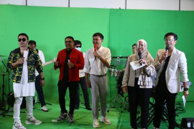 Jasa pembuatan video company profile jakarta Foto Virtual Event Family Gathering Bank Syariah Mandiri 2020 - 4