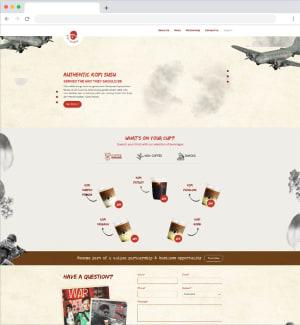 Kopi Perang Website