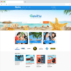 Mydive Diving Course, Trip, Goods Marketplace