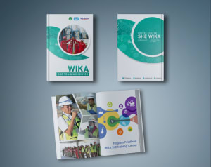 WIKA SHE Training Center Handbook portfolio image