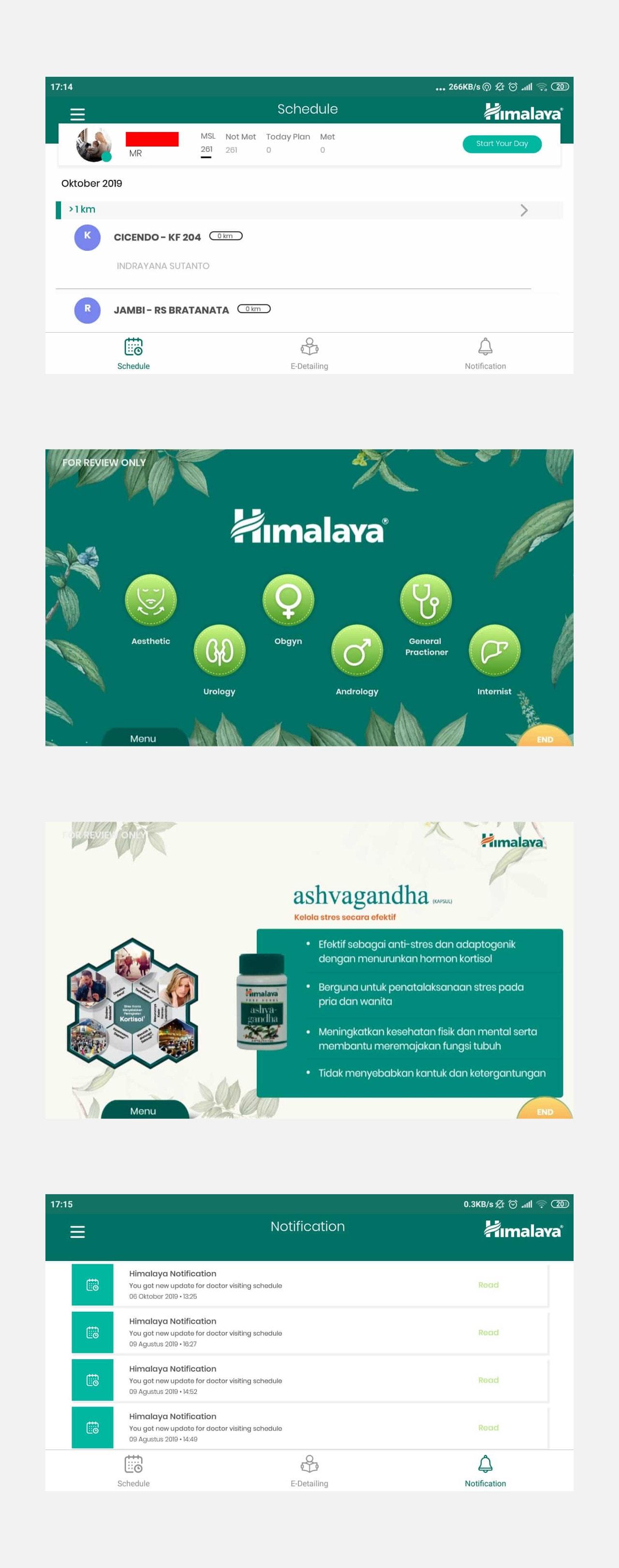 portfolio popout.id web development agency jakarta client Himalaya CRM Dashboard & Mobile App
